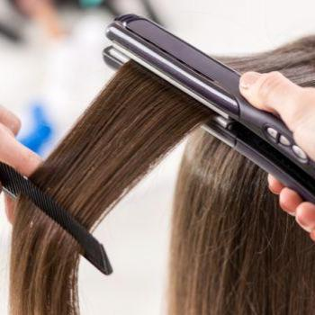 Hair straightening at Neha Orchid Ladies & Kids Beauty Parlour in Kuruppampady