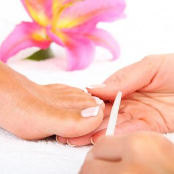 Pedicure at Gloriya beauty parlour in Kothamangalam