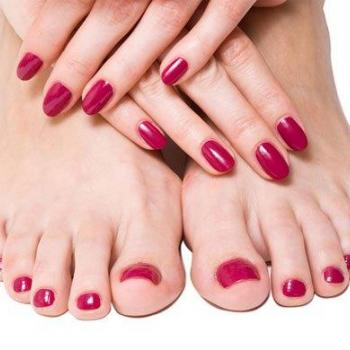 Pedicure & Manicure at Shahanas Beauty Parlour & Tailoring in Adivad