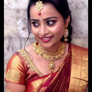 Bridal Makeup at SHOBHAS MIRROR Ladies Beauty Parlour in Perumbavoor