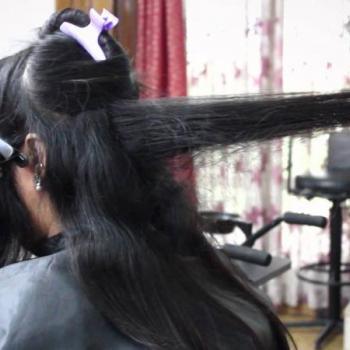 Hair Cutting at Nandana Beauty Parlour in Kothamangalam