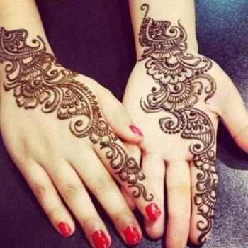 Mehandi Designing at Shobhas Love Dale Beauty Parlour in Perumbavoor