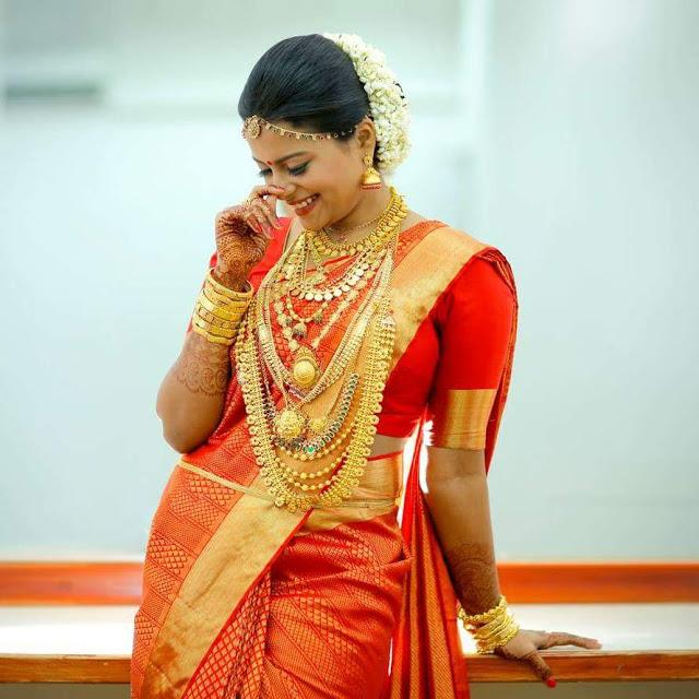 Bridal Makeup Look Family Beauty Parlour Kothamangalam Kerala India