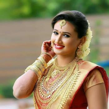Bridal Makeup at Lotus Beauty Parlour & Spa in Vazhakulam