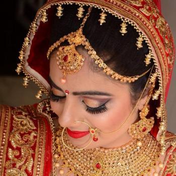 Bridal Makeup at Mummy & Me Beauty Parlour in Muvattupuzha