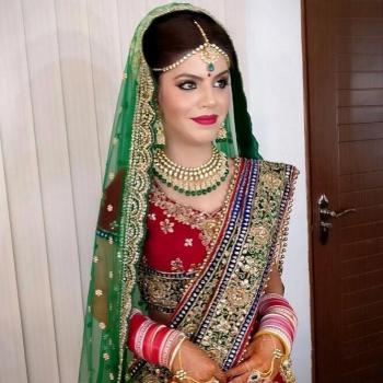 Bridal Makeup at Aleena Beauty Parlour in Aluva