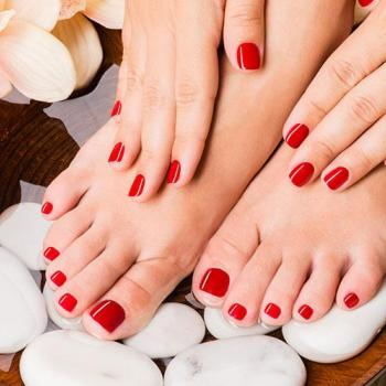 Manicure&Pedicure at Aleena Beauty Parlour in Aluva