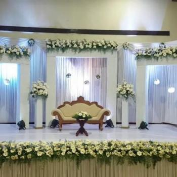 Wedding Stage Decoration at Pullens  Decorations in Varappetty