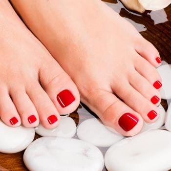 Pedicure at Leyas Shahnaz Herbal Beauty care in Perumbavoor