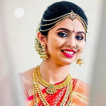 Bridal Makeup at Sheenaz Beauty Parlour in Kottappady