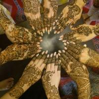 Mehendi Design at Ashna Herbal Beauty Parlour in Perumbavoor