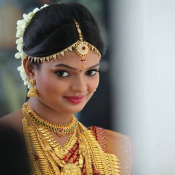 Bridal Makeup at Miss World Ladies Beauty Parlour in Kothamangalam