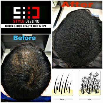Hair Building Fiber at Style Destino in Muvattupuzha