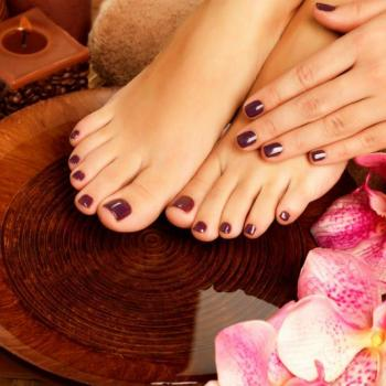 Pedicure & Manicure at Spanish Beauty Parlour & Ladies Tailoring in Keerampara