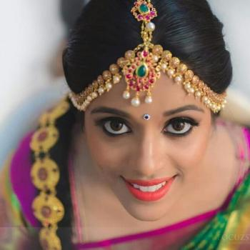 Bridal Makeup at Navami Beauty Parlour in Vazhakulam