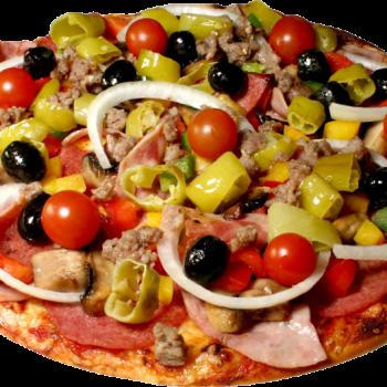 Pizza at SAFFRON BARBEQUE FAMILY RESTURANT in Muvattupuzha