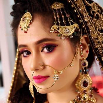 Bridal Make Up at BIBEE'S BEAUTY CARE in Perumbavoor
