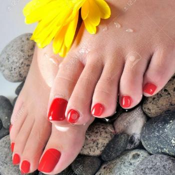 Pedicure and Manicure at BIBEE'S BEAUTY CARE in Perumbavoor