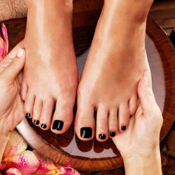 Pedicure at PONNUS BEAUTY PARLOUR in Perumbavoor