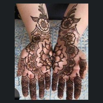 Mehandi Design at Style Setters in Thodupuzha