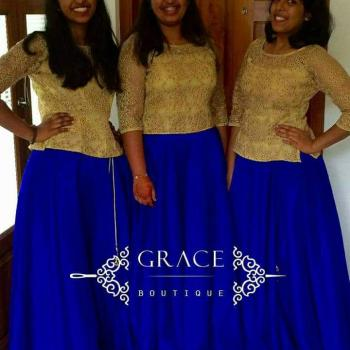Ladies Lehengas Stitching Services at GRACE BOUTIQUE in Angamaly