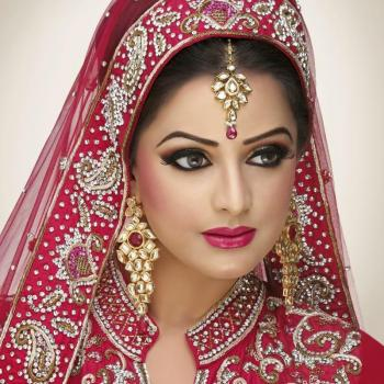 Bridal Makeup at Lotus Beauty Clinic in Changanassery