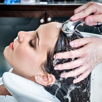 Hair Spa at Lotus Beauty Clinic in Changanassery