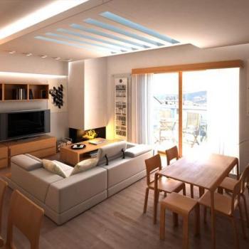 Flat/Apartments Interior at Sigma Kitchen & Interiors in Thodupuzha