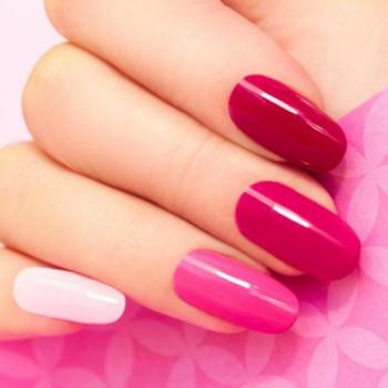 Manicure at La Bella Beauty Parlour in Piravom