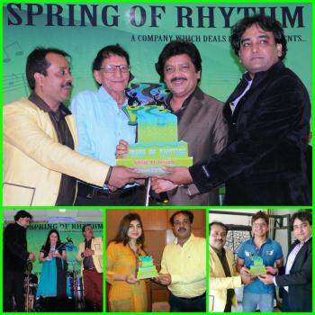 Celebrity Management at SPRING OF RHYTHM in Mumbai