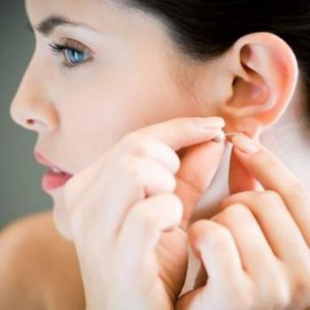 Ear Lobe Repairing-Non Surgical at Touch & Glow Ladies Beauty Clinic in Thiruvalla