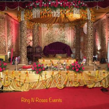 Stage Design & Decor at Ring n Roses Events in Kothamangalam