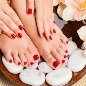 Manicure & Pedicure at Studio M Hair And Beauty in Thalassery