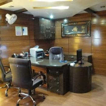 Office Interior at Aron Interiors in Chalakudy
