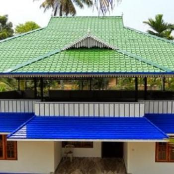 Roof Truss Works at Welcome Aluminium Centre in Chalakudy