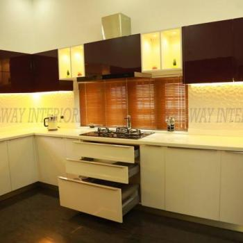 Modular Kitchens at Hallway Interiors in Angamaly