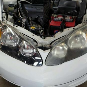 Headlight Restoration at Luxuria Group in Kochi