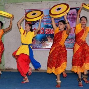 Folk Dance at Sivarchana Classical Dance in Kothamangalam