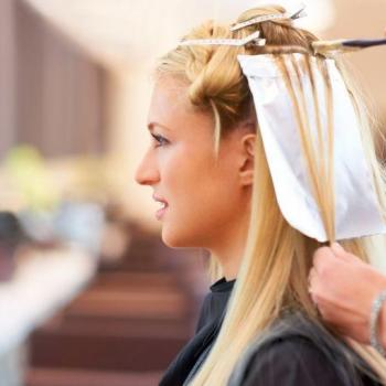 Hair Coloring at Bridal Beauty in Thrippunithura