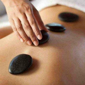 Hot stone massage at Diya Health Spa in Thane
