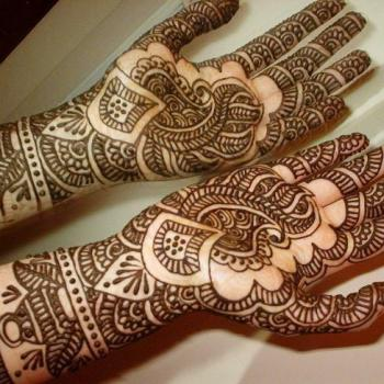 Mehendi Designing at Eclipz Family Saloon in Thrippunithura