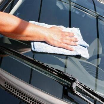 Glass Spot Cleaning at Highway Speed Car Wash in Kalamassery