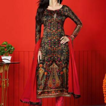 Salwar Suits at Maria Fashion Designer - Ladies & Kids Tailoring Centre in Thrippunithura