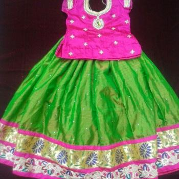 Full Skirt & Blouse at Teens Beauty Parlour & Tailoring in Kidangoor