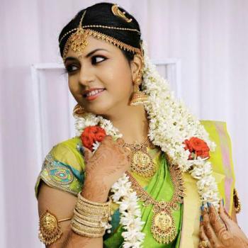 Bridal Makeup at Sea Pearl Ladies Herbal Beauty parlour in Kakkanad