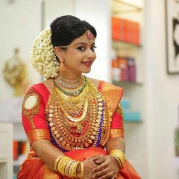 Bridal Makeup at Diyona Beauty Care in Aluva