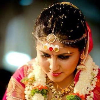Bridal Makeup at Sikba Beauty Parlour &Tailoring in Perumbavoor