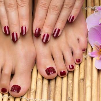 Pedicure & Manicure at Sikba Beauty Parlour &Tailoring in Perumbavoor