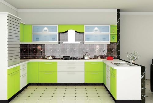 Modular Kitchen at Artwill Modular Kitchen & Interiors in Muvattupuzha