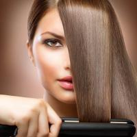 Hair Straightening at Mariya Beauty Parlour in Kalamassery